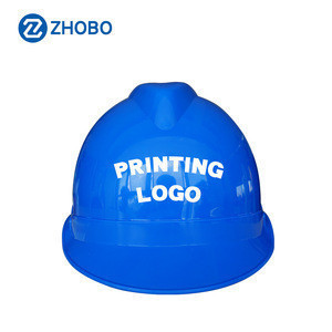 ZHOBO TOOL Safety Helmet Anti smash ABS GB Labor protection Printing