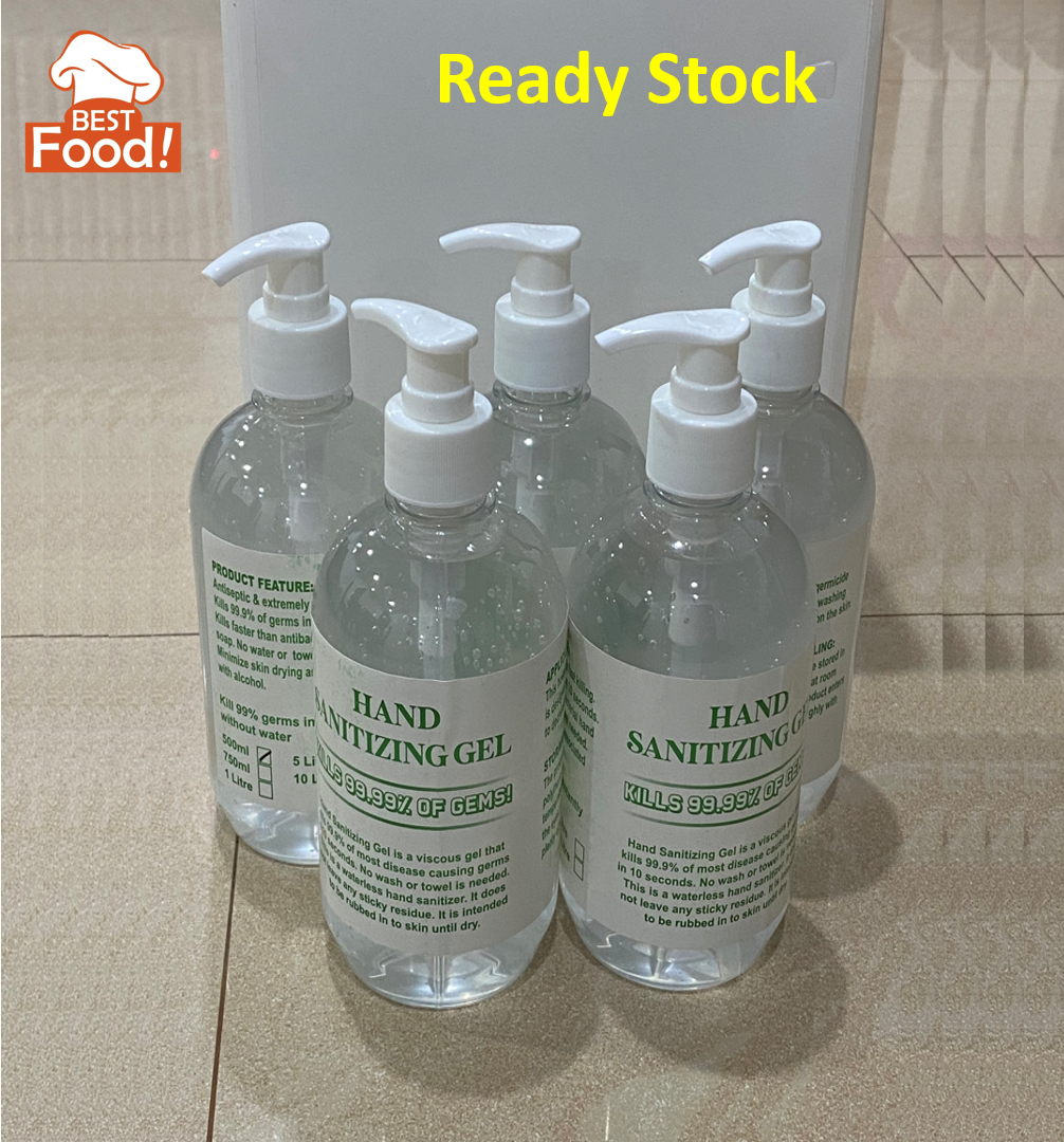 1 OZ. 29ML Waterless Alcohol Base Hand Sanitizer