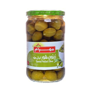 Whole Green Olives (Salty)