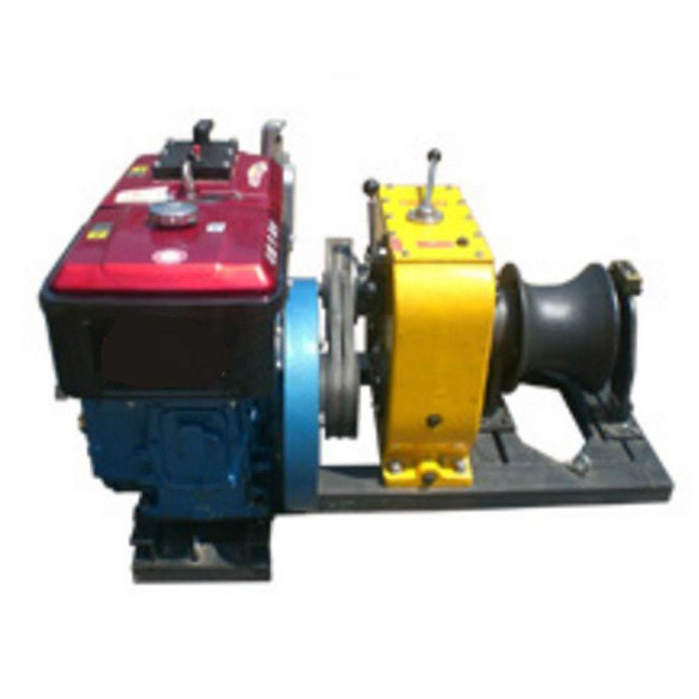 8 10 Ton Ton Winch Pulling Diesel Engine Power Hot Sale