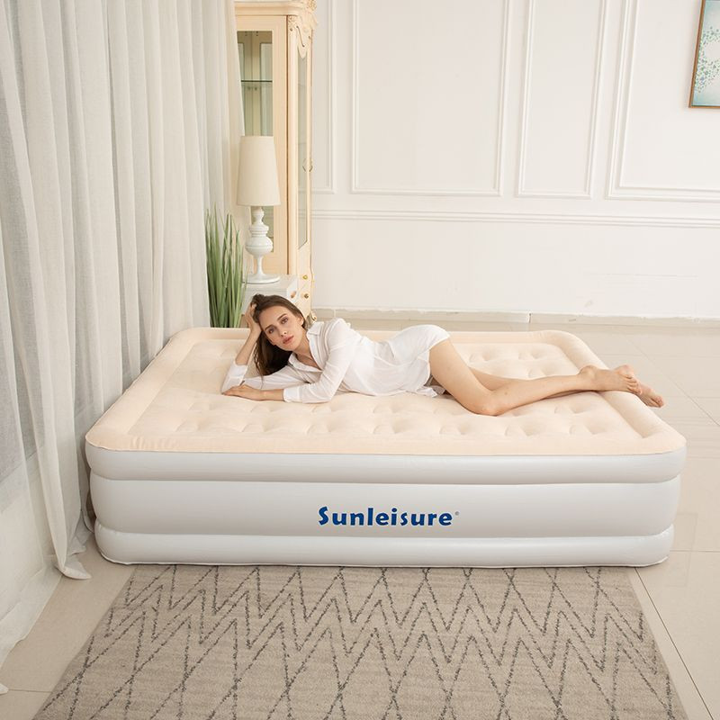 Plastic ir Mattress with ComfortCoil Technology & Internal High Capacity Pump - Queen Size