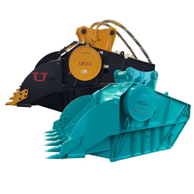 Hardox bucket crusher for concrete breaker with CAT 336