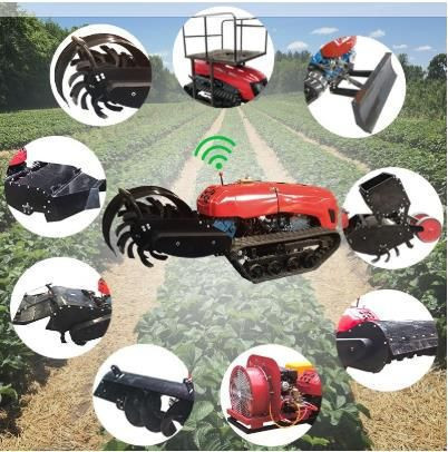 32HP/36HP Agricultural Cultivators Small Tillage Machine Remote Control Trencher