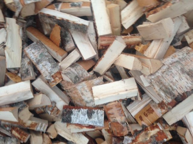 Firewood birch and mix wood