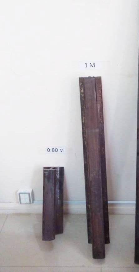 Used Rails, Scrap Metal