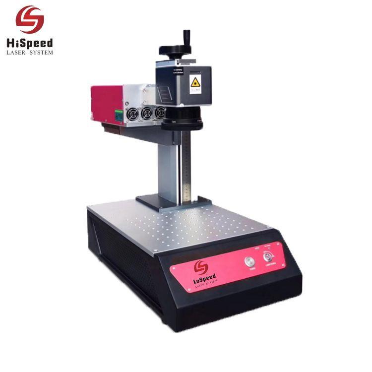 HispeedLaser New Model 1.5 watt uv Laser Marking Machine