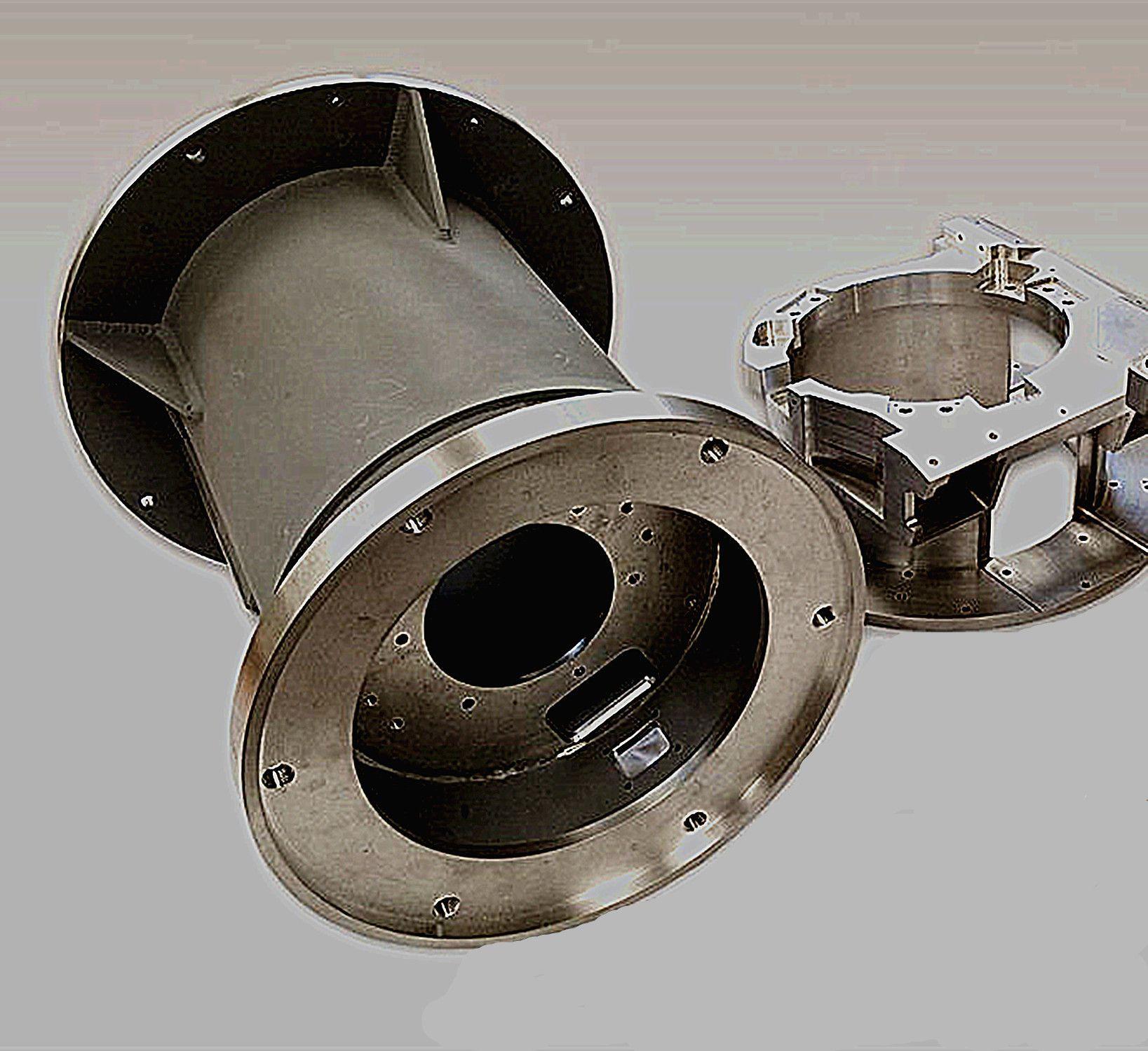 Precision CNC large size steel parts