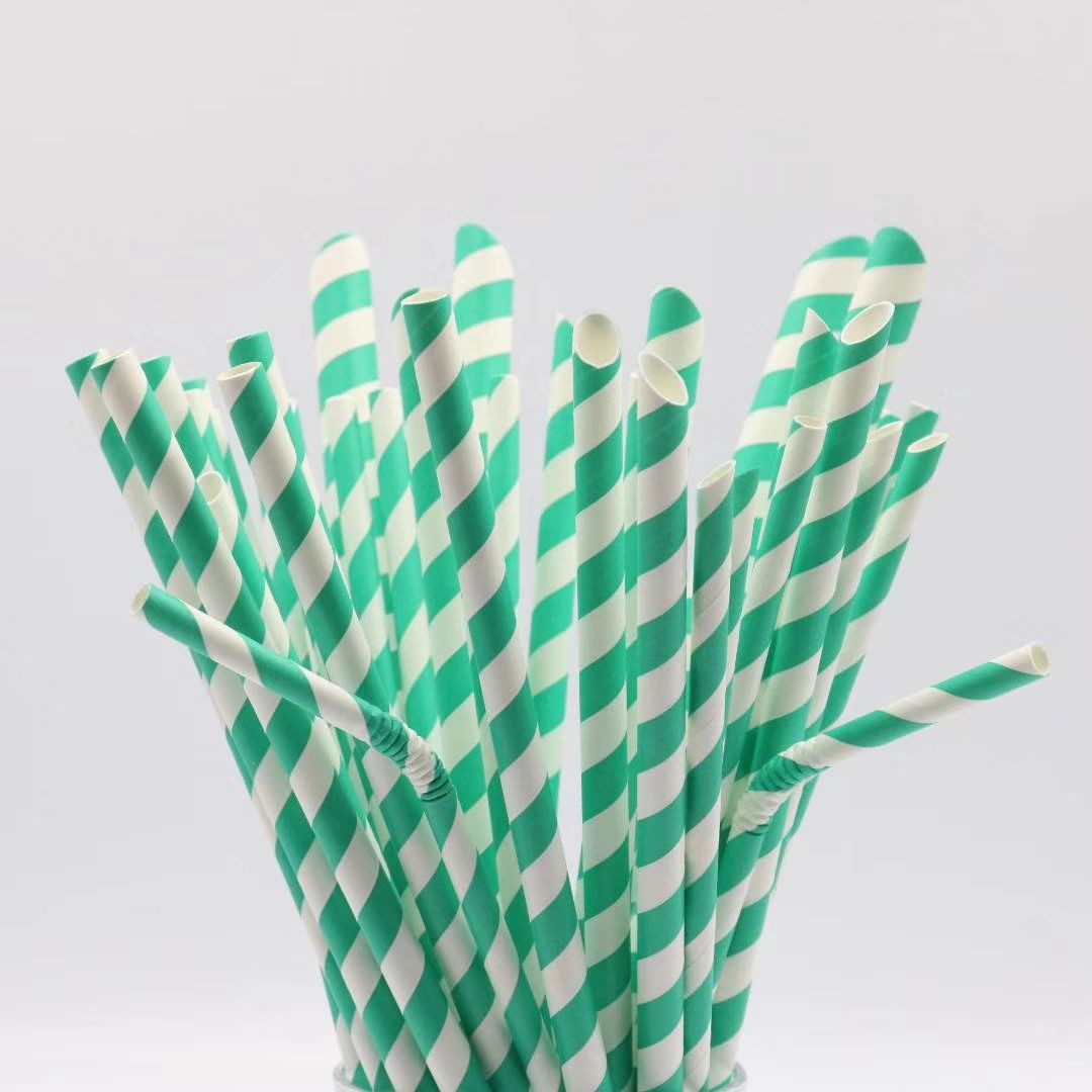 Food grade paper drinking straws