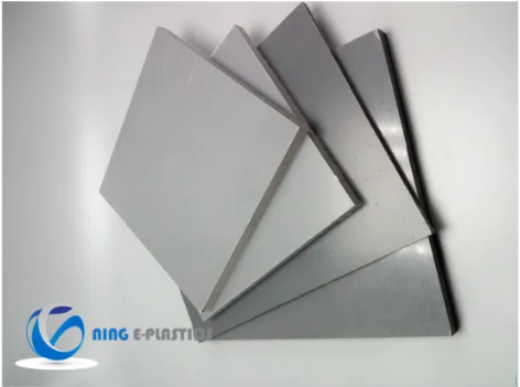 Blue PVC Sheet Plate for Building Material