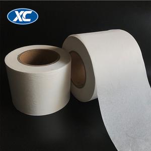 100mm/125mm Food grade heat sealing white tea packaging filter paper bag in roll