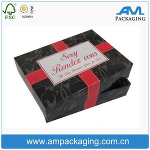 2017AM packaging hot-selling top quality carton handmade printed cardboard hair extensions wig boxes with logo.