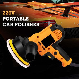 220V 700W 125MM Car Polisher Car Polish Machine Polishing Adjustable Speed Sanding Waxing Grinding Tools