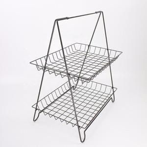 Mesh Newspaper Stand Metal Magazine Rack; Catalogue Holder Basket