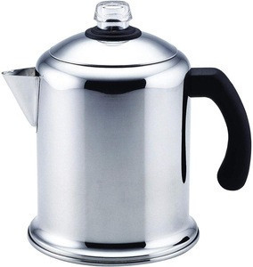 Amazon Hot Classic 8-Cup Sliver Stainless Steel Coffee Percolator