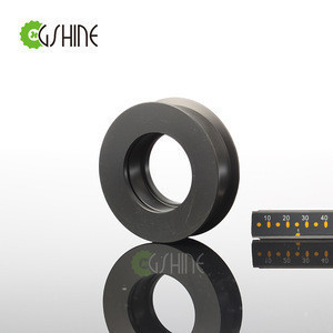 Black Polyformaldehyde Guide roller with Circlip groove for 6004-2zz Bearing