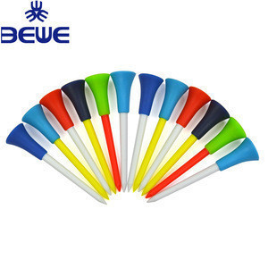 Brand new custom cheap price colorful plastic golf tees