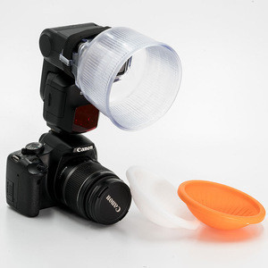 Camera Lambency flash diffuser
