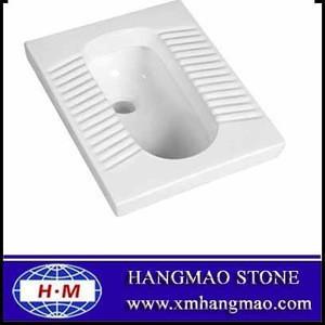 Ceramic squatting wc toilet pan