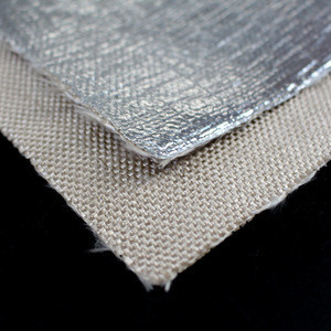 China Factory Aluminum Aramid Cloth