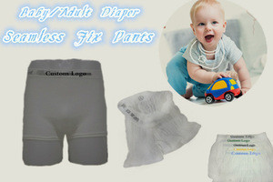 Custom brand baby underwear/baby incontinence fix pants