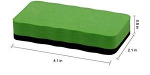 Dry Erase Erasers,12 Packs Dry Whiteboard Eraser,Magnetic Eraser Chalkboard White Board Erasers