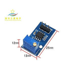 Frequency adjustable small signal generator module square rectangular wave NE555 pulse generator