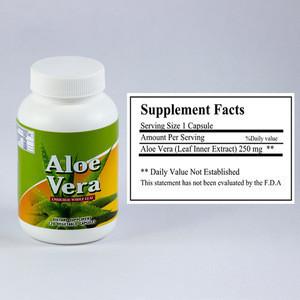 Fresh Aloe Vera Drink With Pulp