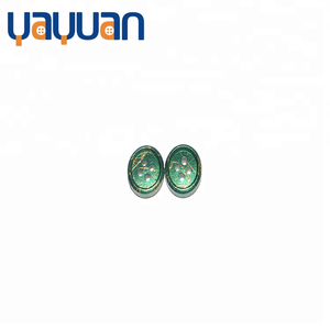Green gold wire 4 Holes button wood clothing accessories color customized