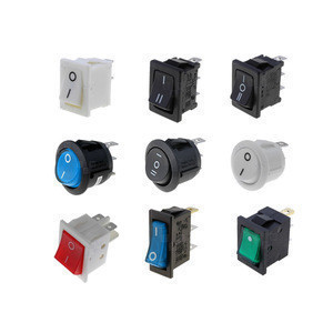 High quality 295 KLS brand waterproof 120v rocker switch