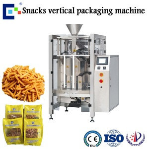 High speed automatic snack food packaging machine