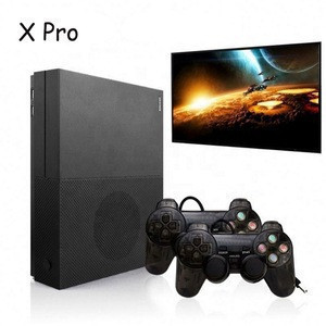 Hot deal NEW Product 64Bit 4K HD Video Game console with 2 joystick Video game console X PRO