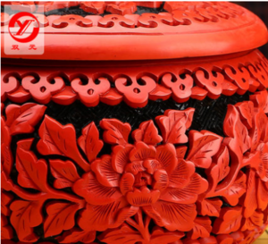 Hot sale Chinese carved lacquerware weiqi cases