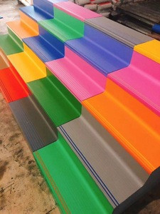 Indoor rubber stair tread pvc flooring accessory
