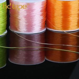 Jewelry bungee cord elastic tpu plastic bead thread