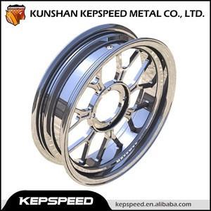 Motorcycle aluminium rim & tubuless wheel