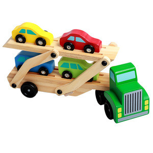 Multi Color Vehicle Hand Toy Bus Car for Kids