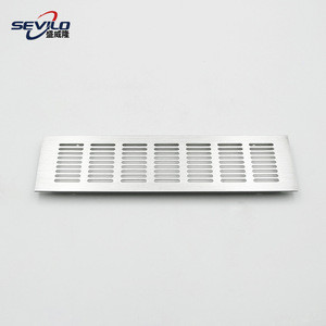 OEM / ODM Aluminium Alloy Air Ventilation Grilles For Cabinets Doors