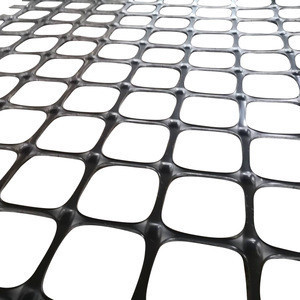 Plastic black biaxial bx pp welded geogrid mine corrosion resistant price