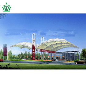 PTFE Stadium tensile membrane structure, membranestructure bleachers canopy tent,Special design carport
