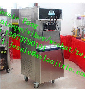 Soft cream making machine with air compressor/ commerical yogurt maker/ice cream making machine commercial