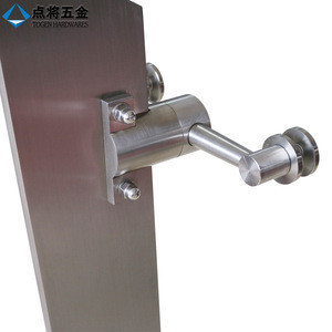 Stainless steel glass staircase balcony railing system