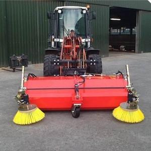 Truck mounted hydraulic broom