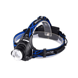 USB Rechargeable Light Headlamp with LED T6 Head Lights 18650 Lithium Head Lamps