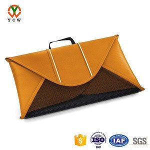 Waterproof avoid wrinkled backpack accessory to folder clothes bag