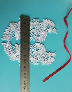 Wholesale French style wedding lace applique