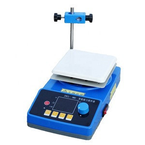 ZNCL-B 230*230mm lab hot plate stirrer  digital display  Magnetic stirring heating plate