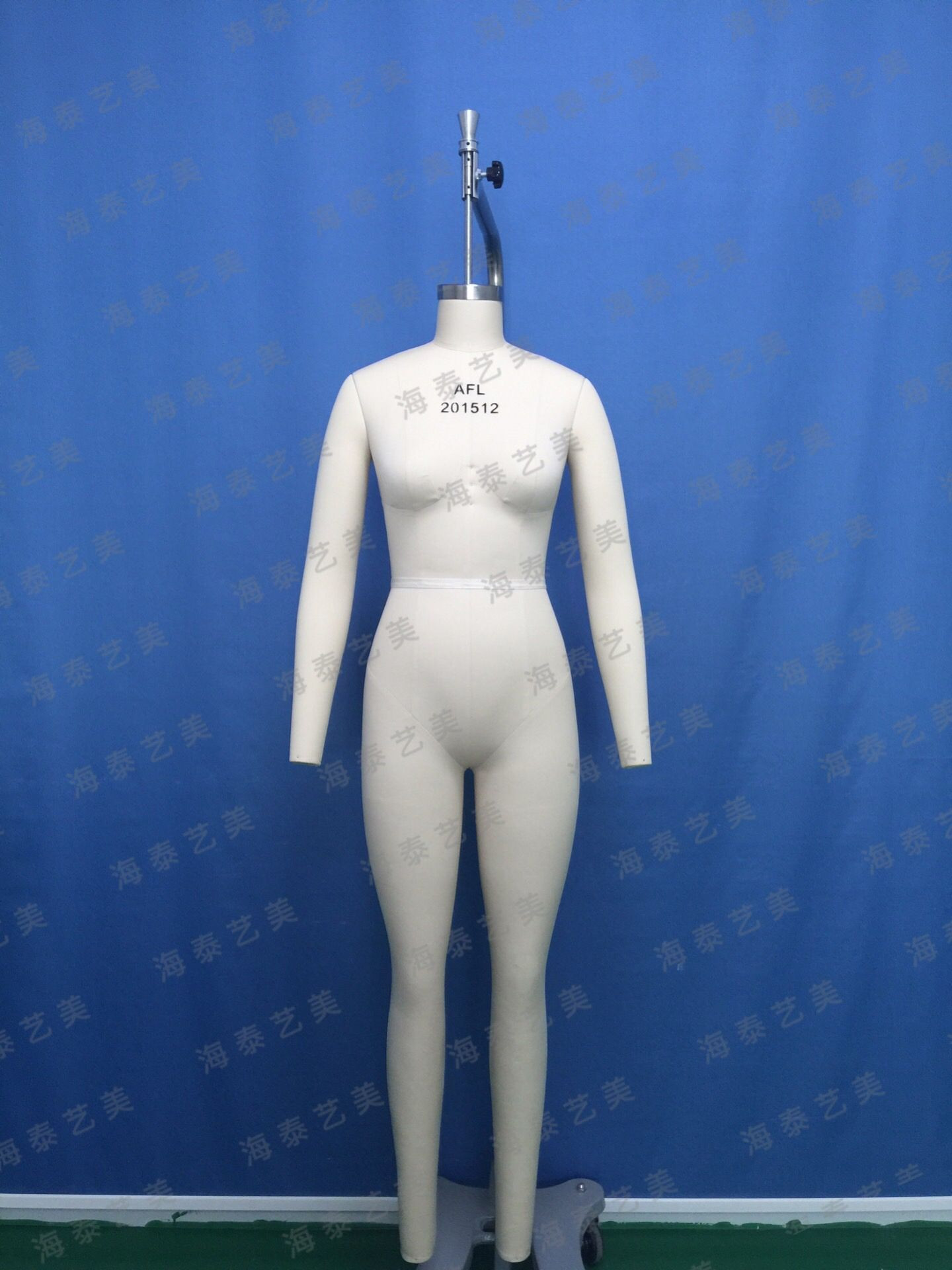 Full body female fabric tailoring mannequin dress form