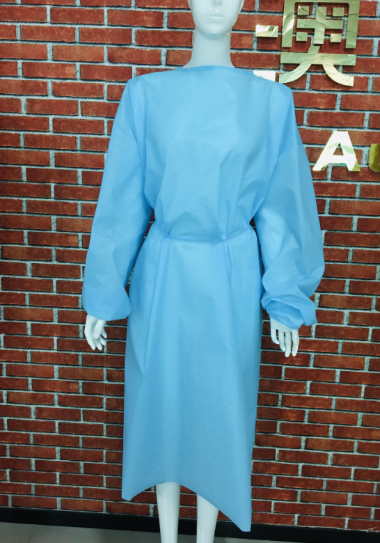 civilian isolation gown