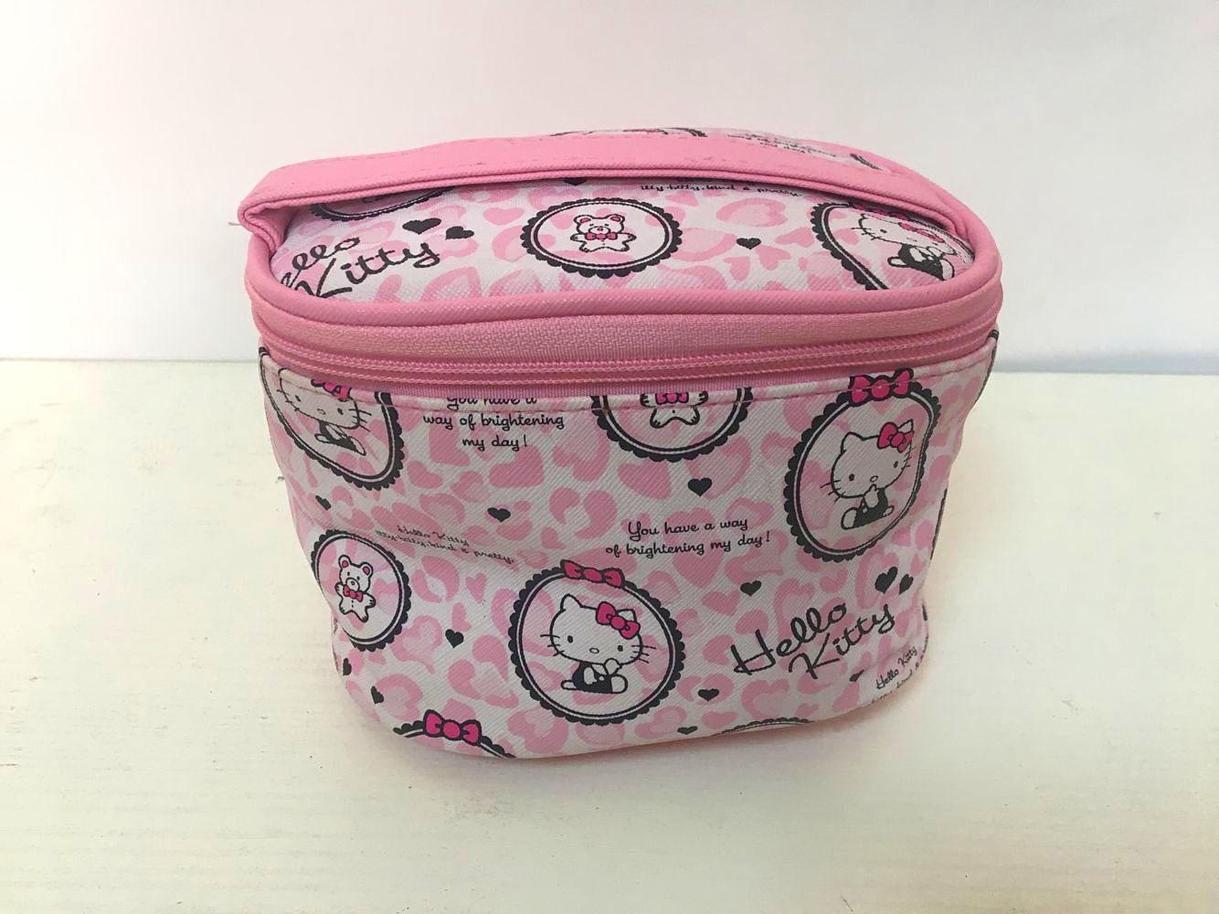 Nylon Travel Cosmetics Makeup Bags