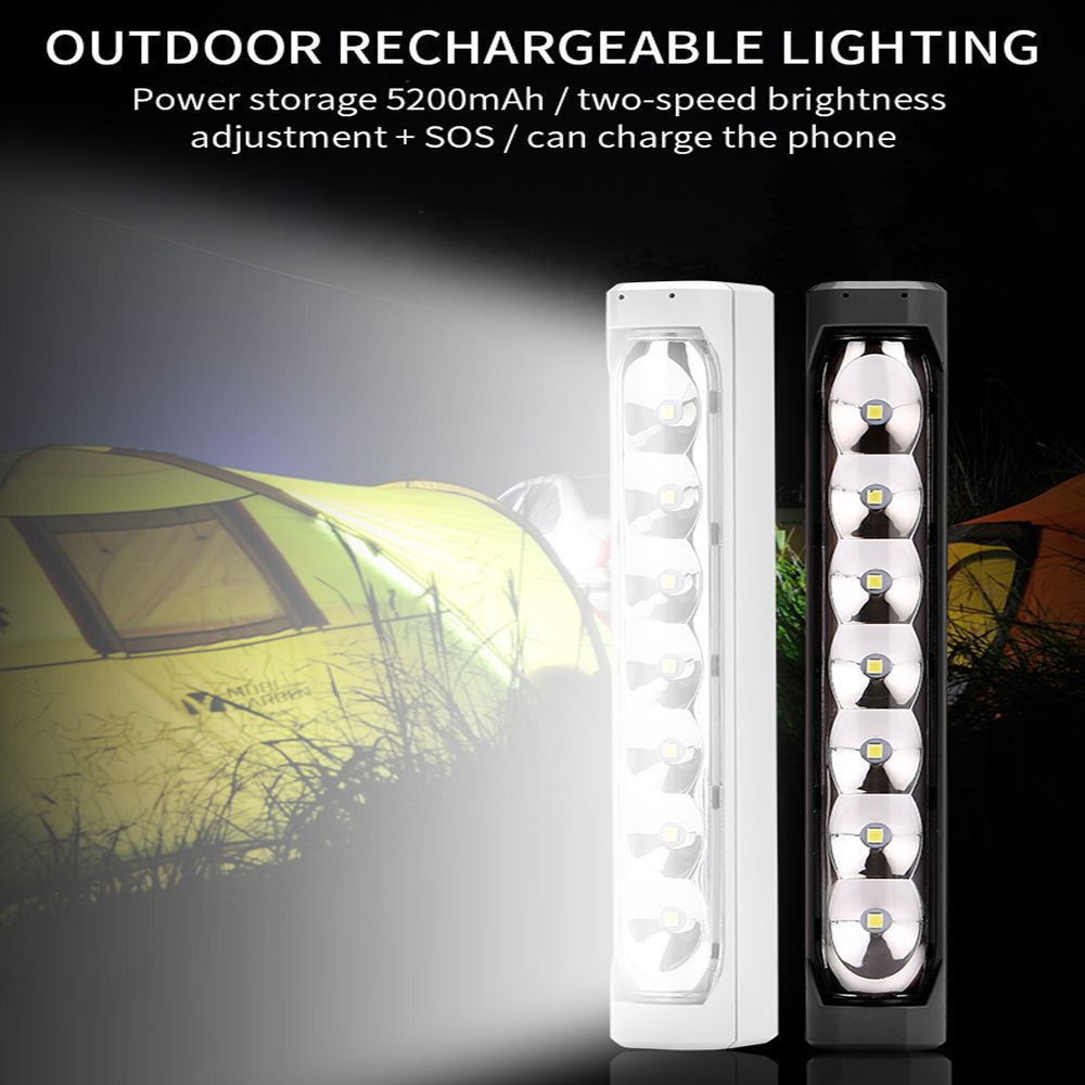 Hot outdoor led camping lamp charging camping lamp flashlight function tent lamp LED lighting LED Flashlight